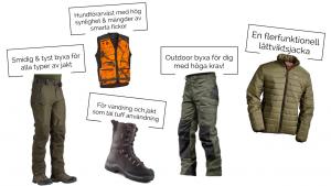 t-p outdoor fritidskläder jaktkläder