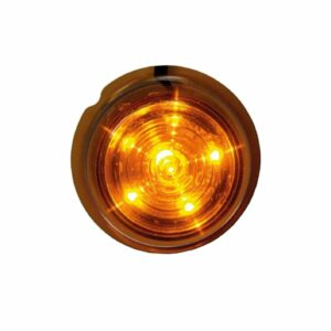 Strands Viking Sid orange 6 LED. Orange lins.