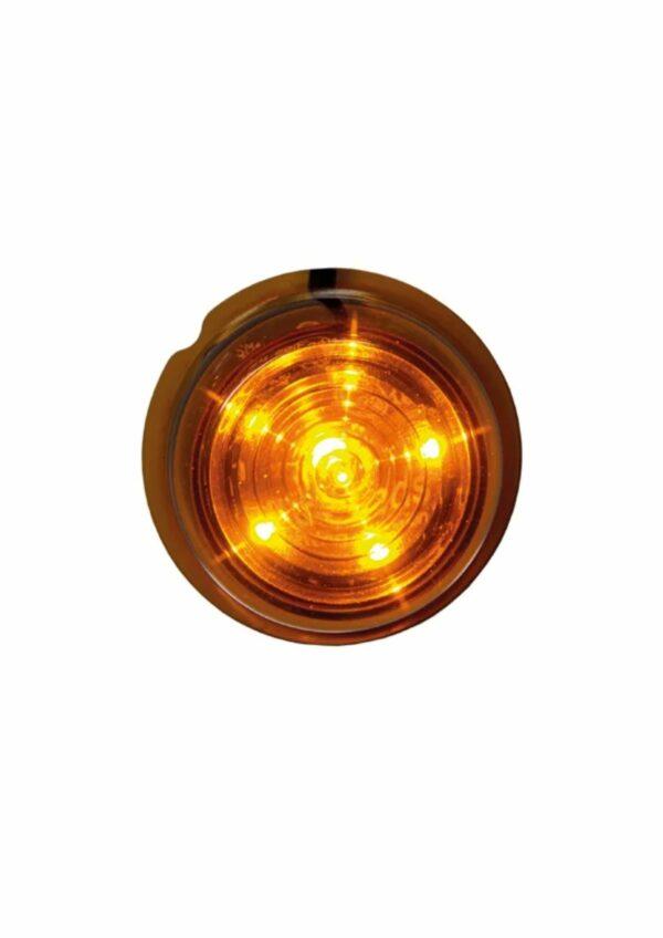 Strands Viking Sid orange 6 LED. Orange lins.